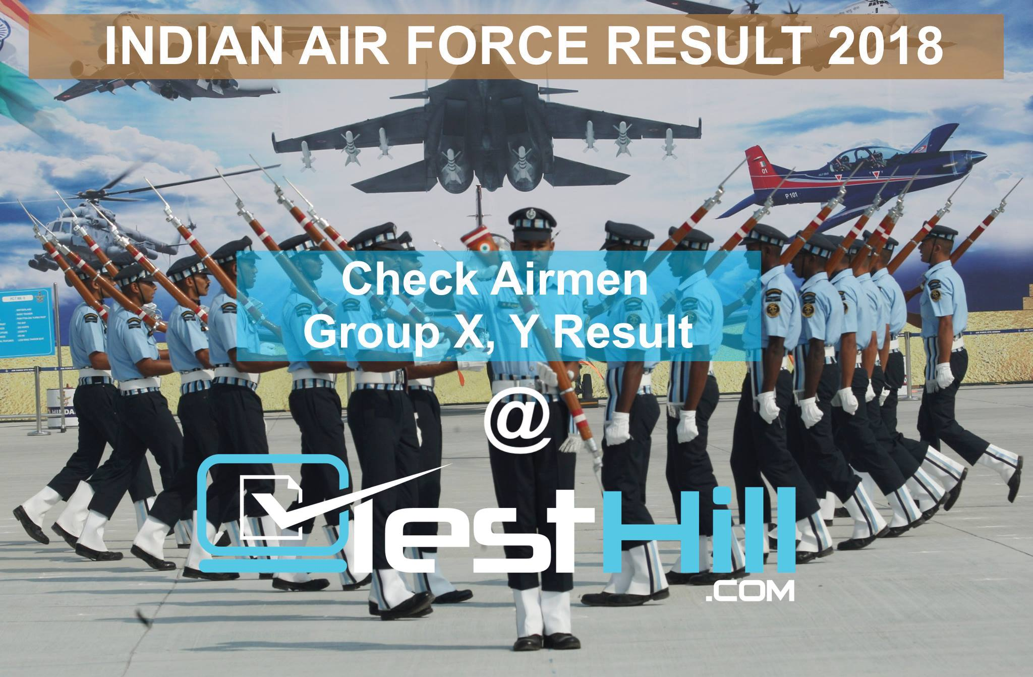 Indian Air Force Result 2018
