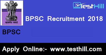 BPSC Recruitment 2018, BPSC 64th Mains Application Form