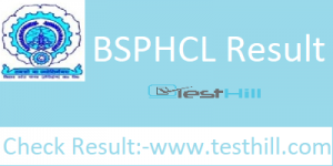 BSPHCL Result 2018-19
