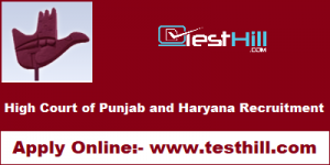 High Court of Punjab and Haryana Recruitment
