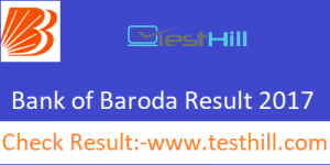 Bank of Baroda Sub Staff Result 2017