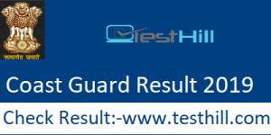 Coast Guard Result 2019