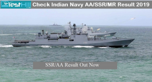 Indian Navy AA/SSR Result 2019