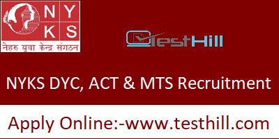 NYKS DYC, ACT & MTS Recruitment 2019