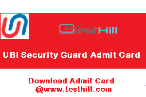 Union Bank of India (UBI) Security Guard Admit Card 2019 - Blog