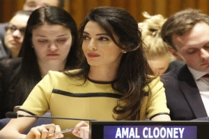 Amal Clooney is appointed as the U.K.s special envoy on media freedom