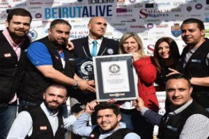 Beirut sets a new Guinness World Record