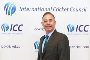 Manu Sawhney took over as ICC Chief Executive with immediate effect