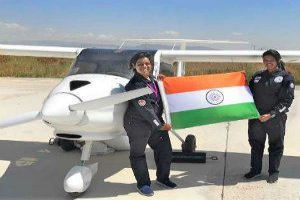 Aarohi Pandit becomes 1st woman to cross the Atlantic Ocean solo in a LSA