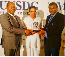Acharya Balkrishna receives 'UNSDG 10 Most Influential People in Healthcare Award'