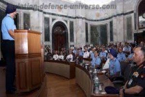 Air Chief Marshal B S Dhanoa received baton of Chairman COSC