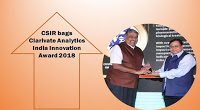 CSIR Bags Clarivate Analytics India Innovation Award 2018