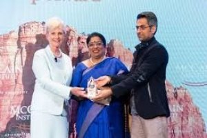 IPS officer who oversaw Nirbhaya rape case receives McCain Institute Award 2019