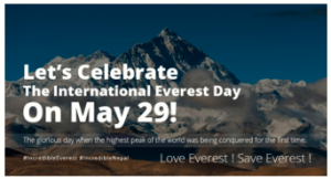 International Everest Day 29th May