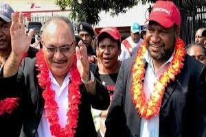 James Marape appointed as the Prime Minister of Papua New Guinea