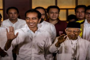 Joko Widodo has been elected President of Indonesia for the second term