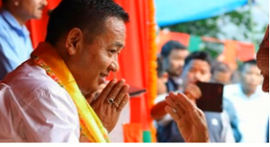 P S Golay sworn-in as Sikkim Chief Minister along with 11 Cabinet ministers