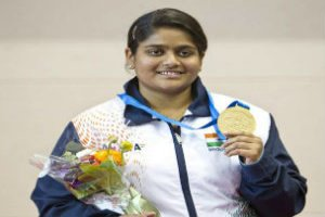 Rahi Sarnobat clinched gold in the womens 25m pistol in 2019 ISSF World Cup