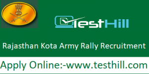 Rajasthan Kota Army Rally Recruitment 2019