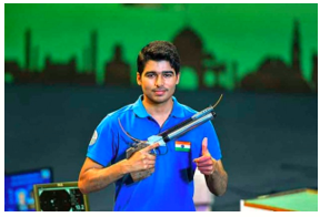 Saurabh Chaudhary wins 10m Air Pistol after beating his own World record