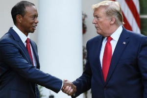Tiger Woods was awarded the USs Presidential Medal of Freedom