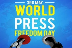 World Press Freedom Day is celebrated on 3rd May