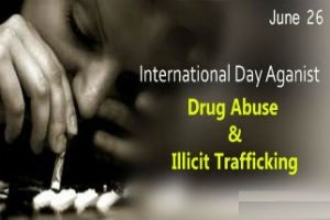 26 June as International Day Against Drug Abuse and Illicit Trafficking
