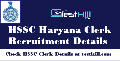 HSSC Haryana Clerk Recruitment
