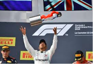 Hamilton won French Grand Prix
