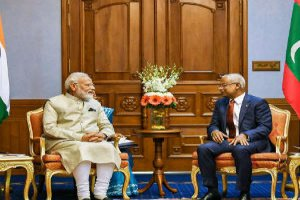 India signs six key agreements with the Maldives