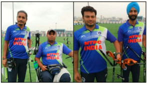 Indian archers bag four berths for Tokyo Paralympics