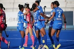 Indian women's hockey team overcame FIH Series
