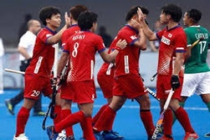 Japan defeat Mexico and won FIH Hockey Series