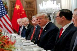 Trump threatened to increase tariffs on at least another USD 300 billion worth goods