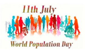 11th July is observed as World Population Day