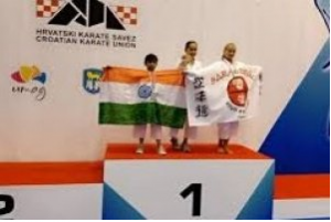 Arinjeeta Dey won a silver medal for India in World Youth Cup 2019