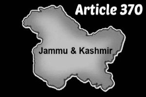 Centre states no foreign government or organization has any right to repeal Article 370