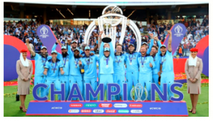 England won the ICC Cricket World Cup