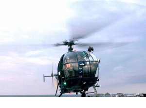 HAL delivered Chetak helicopter to Indian Navy ahead of schedule