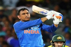 MS Dhoni shifted the only second Indian player to reach the 350-game mark in ODI