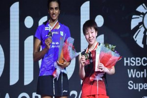 PV Sindhu won her first silver medal of the year at Indonesia Open
