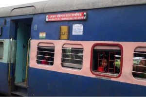 Pink coaches launched for women by the Northeast Frontier Railway zone