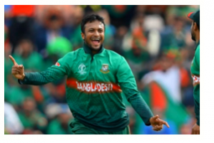 Shakib became the first player to score 500 runs, take 10 wickets in WC history