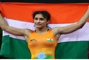 Vinesh Phogat got a gold medal in the 53 kg category at the Grand Prix of Spain 2019