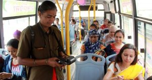 Delhi Cabinet approved free rides for women in DTC from 29 October