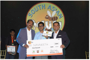 Indian-American teen won South Asian Spelling Bee competition