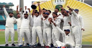 Indian team hold top-spot in ICC test rankings