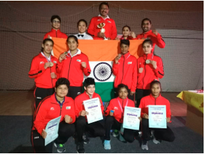 India's junior women boxers won 4 gold medals at Serbian tourney