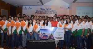 India's participation in the World Skills International Competition is as big as the Olympics