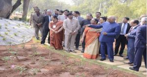 President of India launched tree plantation drive at Rashtrapati Bhavan